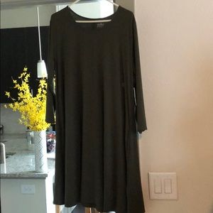 New York and Company olive dress  NWT XL